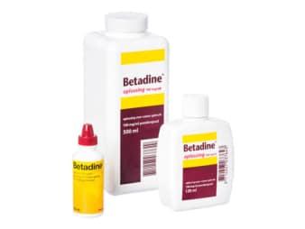 Betadine-Jod