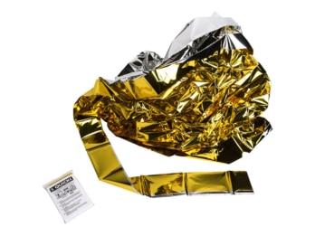 Rettungsdecke Gold-Silber