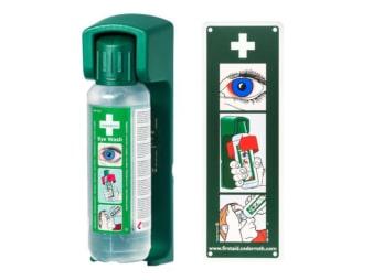 Wandhalter Augenspülflasche