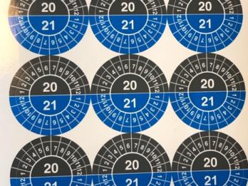 controle sticker 2020/2021