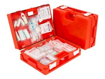Erste-Hilfe-Koffer für den Bau groß